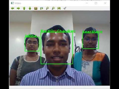 Develop Face Recognition Using OpenCV model