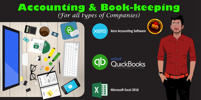 Do Accounting & Bookkeeping Of Your Company In Quickbooks
