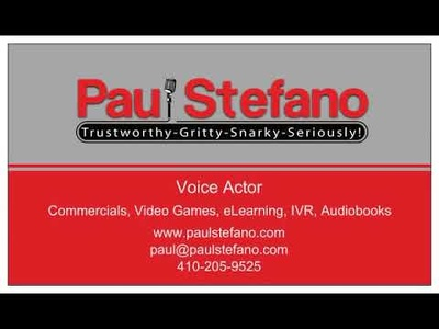 Create a Professional Male Voice Over