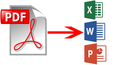 Convert Any Kind Of Pdf Conversation And Editing