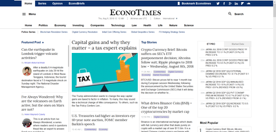 Publish Guest Post on Econotimes Econotimes.com -DA 60 Dofollow