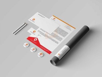 Design Creative Letterhead with Word file