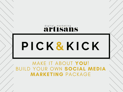 "Be your Social Media Specialist ►""PICK&KICK"" pack"