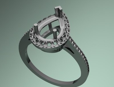 Create a ring design for you on Rhino 3D