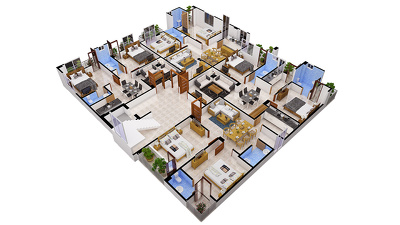 Convert Your 2d Floor Plan into a 3d Floor Plan