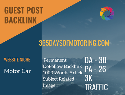 Motor Car Related Guest post on 365daysofmotoring.com|DA 30
