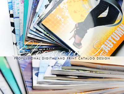 design Professional Brochure/Catalogue/ E-Book  (20 pages)