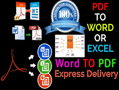 do any kind of data entry,web research and PDF convert work