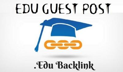 4x EDU Guest Posts with Dofollow DA60 - DA94