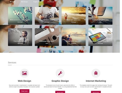 Landing Page Website Design + Responsive  + Professional Quality