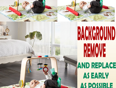 Remove Background of your image As Early As Possible you need.