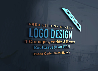 *PREMIUM* High Quality Logo  Design (in 3 hours)