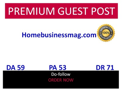 Publish guest post in Homebusinessmag Homebusinessmag.com