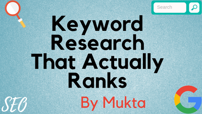 do Keyword Research That Actually Ranks For Amazon & Niche Blog