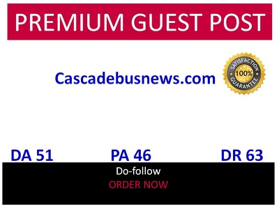 Guest post in Cascadebusnews cascadebusnews.com DA 51 DR 63