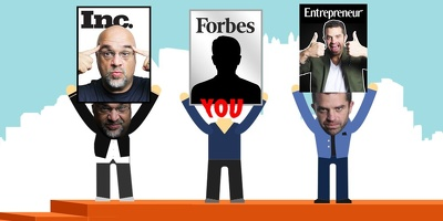 Help you land a FEATURE on  Forbes/Entrepreneur/Fast company