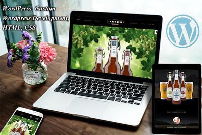 Develop WordPress WooCommerce Website in Avada Theme