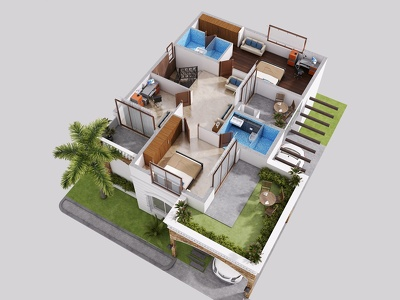 Create Your Amazing 3d Floor Plan Rendering