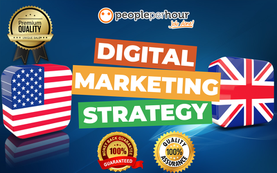 Provide a Digital Marketing Strategy Plan