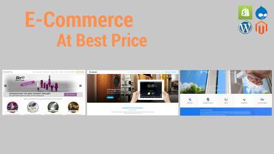 Build an E-commerce website.