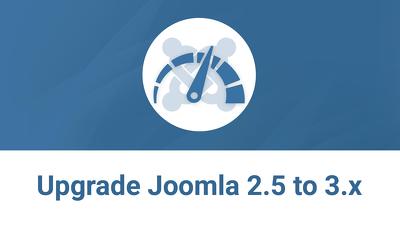 Upgrade Joomla 2.5 to 3.x