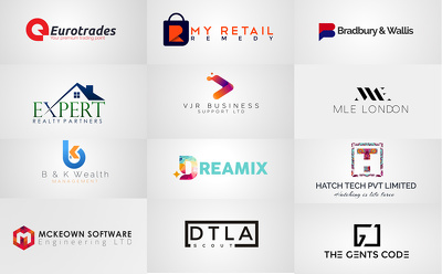 Design a professional 3 high quality logo concepts with fav icon