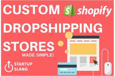 Make automated shopify aliexpress dropshipping store