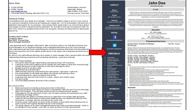Rewrite your CV and Cover Letter