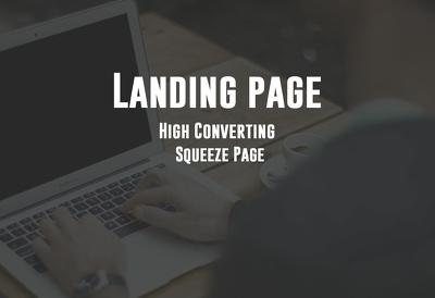 create High Converting Wordpress Landing Page