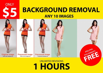 Remove background 20 -50 images or do anything in Photoshop