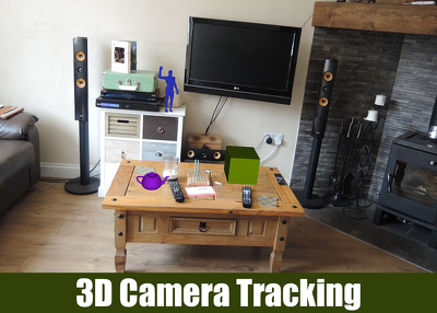 Matchmove / 3D camera track your footage