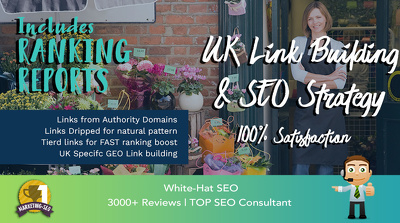UK Link Building & SEO GOOGLE Strategy