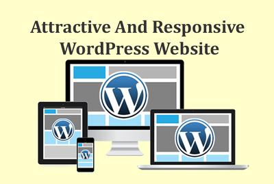 Build Attractive And Responsive WordPress Website