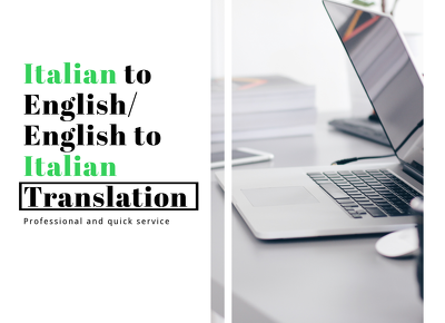 Translate up to 1000 words from English to Italian/ or IT to ENG