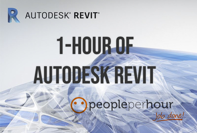 Provide 1 hour of Autodesk Revit work for architectural projects