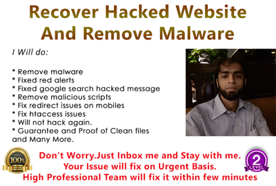 Recover One Hacked Wordpress Website And Remove Malware