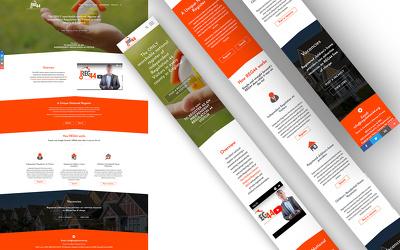 sEO optimised conversion ready bespoke website in WordPress