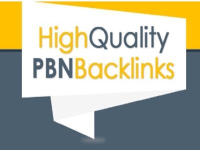 Build 10 High PR PA DA TF CF 40+ to 15, PBN Homepage Backlinks
