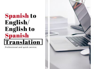 Translate Spanish and English