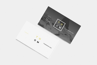 Design business card with unlimited revisions