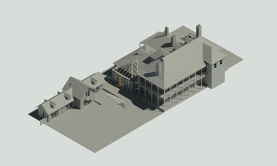 Convert plan into 3d model ( Revit)
