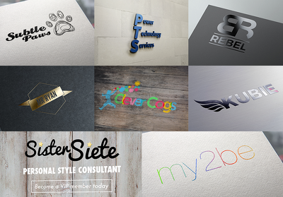 Design a Bespoke Logo + Unlimited Concepts/Revisions