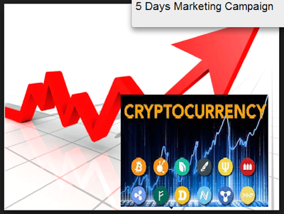 5 Days Bitcoin, cryptocurrency investors or ICO Campaign