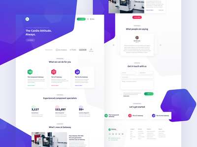 Design a Contemporary Landing Page for your Product / Service