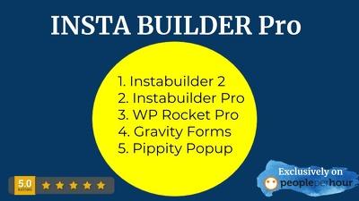 I Will Install Instabuilder 2 And Instabuilder Pro