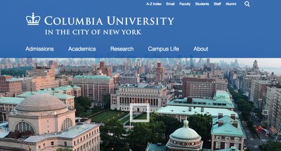 Guest post on Columbia University. Columbia.edu - DA 95