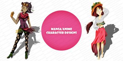 Create a fully detailed anime/manga character illustration