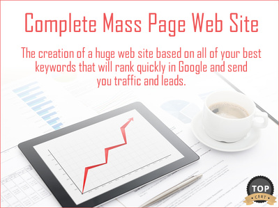 High Ranking Mass page Web Site Creation