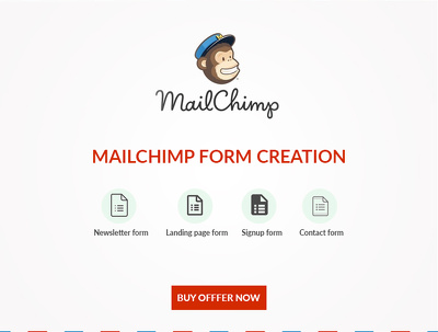 Design and create a Mailchimp form with website Integration