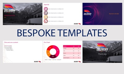 Design a professional PowerPoint template